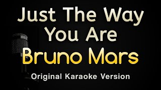 Just The Way You Are - Bruno Mars (Karaoke Songs With Lyrics - Original Key)