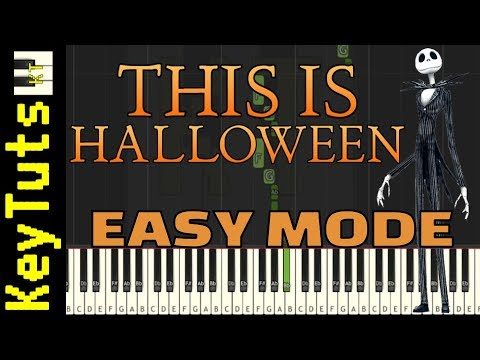 Learn to Play This Is Halloween from Nightmare Before Christmas - Easy Mode