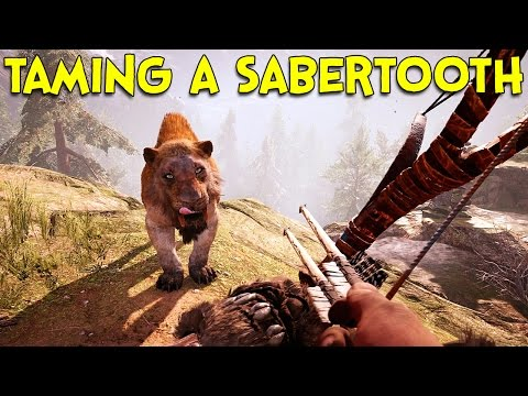 TAMING A SABERTOOTH! - Far Cry Primal
