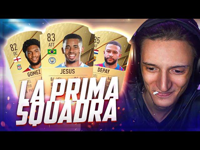 La MIA PRIMA SQUADRA su FIFA 22!
