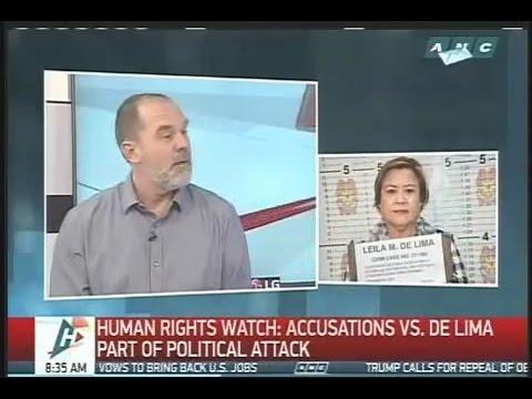 Peter Bouckaert, Human Rights Watch (HRW) Emergencies Director, on ANC Headstart last March 2, 2017