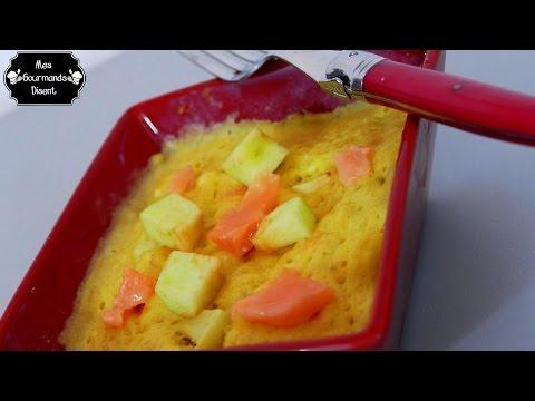 mug-cake-salé---saumon-,-kiri-&-pomme-verte