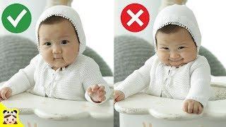 귀여운 아기 100일 사진 찍었어요☆ 하은이 웃긴 표정 꿀잼 모델 촬영 잘했을까? 육아 일상 밀착중계 놀이 Cute baby photo   보라미패밀리 BoramiFamily