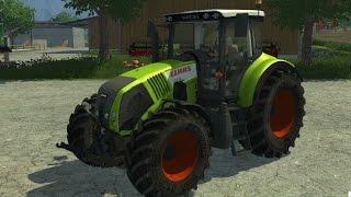 Farming Simulator 2013 Mods - Tractor Claas Axion 820 V2.2 Final