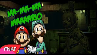 Mario y Luigi en Five Nights at Freddy