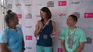 Interview with Silver Medalists Juliana Korver and Ryan Young