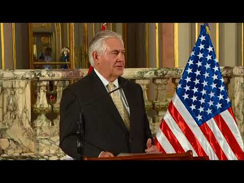 Secretary Tillerson Speaks to Press with Peruvian President Kuczynski in Lima