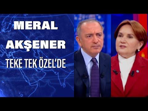İYİ Parti Genel Başkanı Meral Akşener Habertürk'te | Teke Tek Özel -  28 Nisan 2020