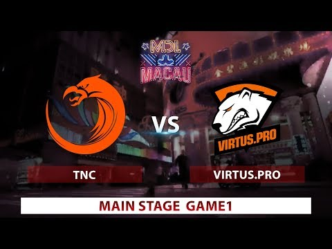 TNC vs. Virtus Pro | Game 1 | Day 2 | Mars Dota League | Group Stages
