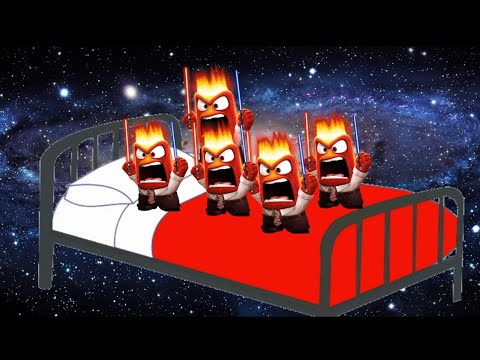 Download Five Anger Star Wars Jumping on the bed - 5 little monkeys Rhymes