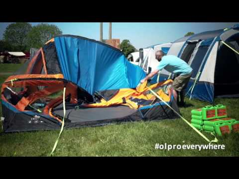 The best freestanding driveaway camper van awning - The Loopo Breeze from OLPRO
