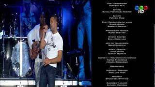 Ricky Martin en Buenos Aires Telefe HD TV Digital Argentina Transmision Experimental