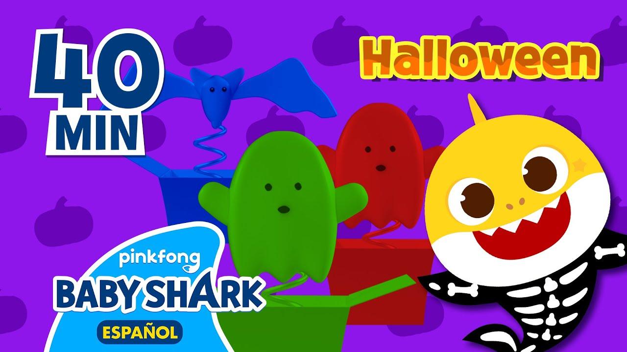 [Halloween🎃]¡Vamos a adivinar! | Caja Sorpresa de Halloween👻 | Tiburón Bebé | Baby Shark en español