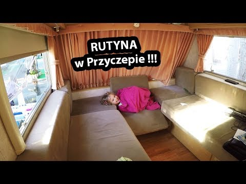 Rutyna w Przyczepie Kempingowej ... - ostrzegam NUDY na vlogu !!! (Vlog #228)