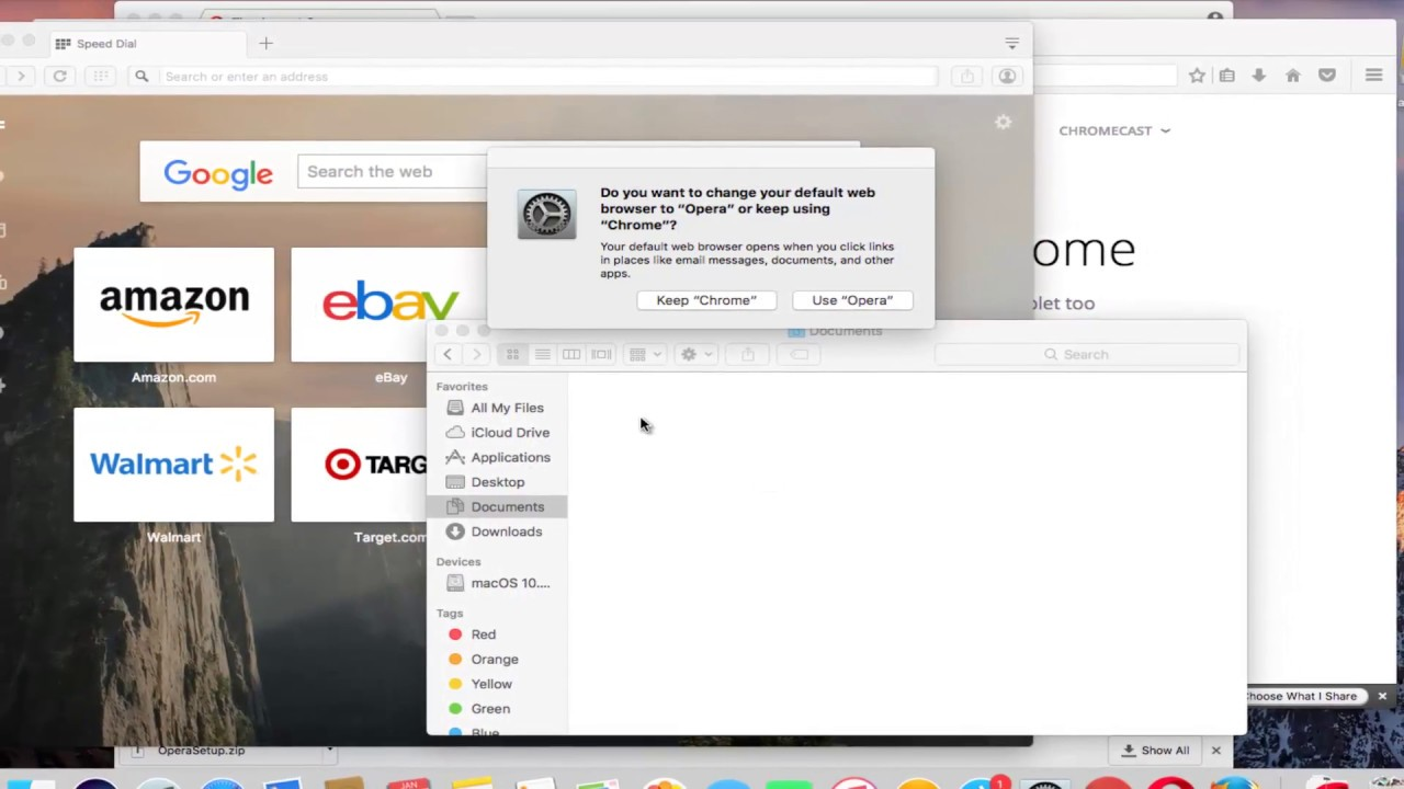 macOS - How To Download And Install Opera Web Browser - YouTube