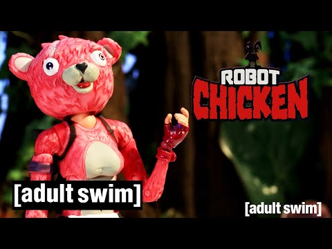 Robot Chicken | Robot Chicken Does Fortnite | Adult Swim UK 🇬🇧