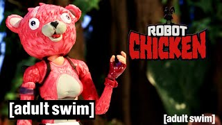 Robot Chicken Does... Fortnite | Adult Swim UK 🇬🇧