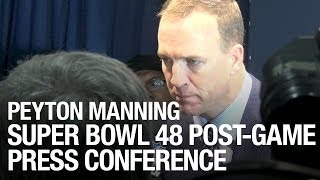Peyton Manning Super Bowl 48 Post-Game Press Conference