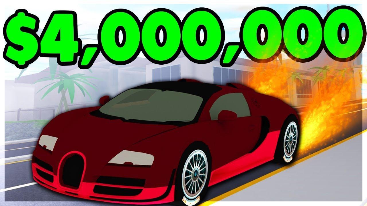 Getting The New 3 Million Fastest Car Fury Roblox Mad City New - Roblox Mad City Bugatti Robux On Roblox App