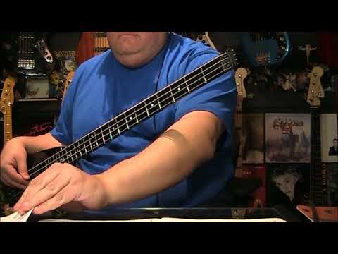 Boston Foreplay Longtime Bass Cover with Notes & Tab