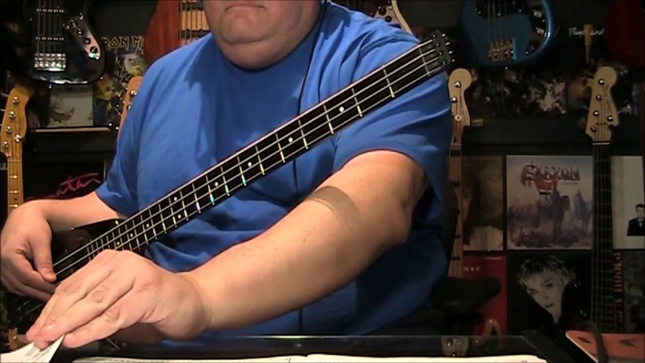 Download Boston Foreplay Longtime Bass Cover with Notes & Tab