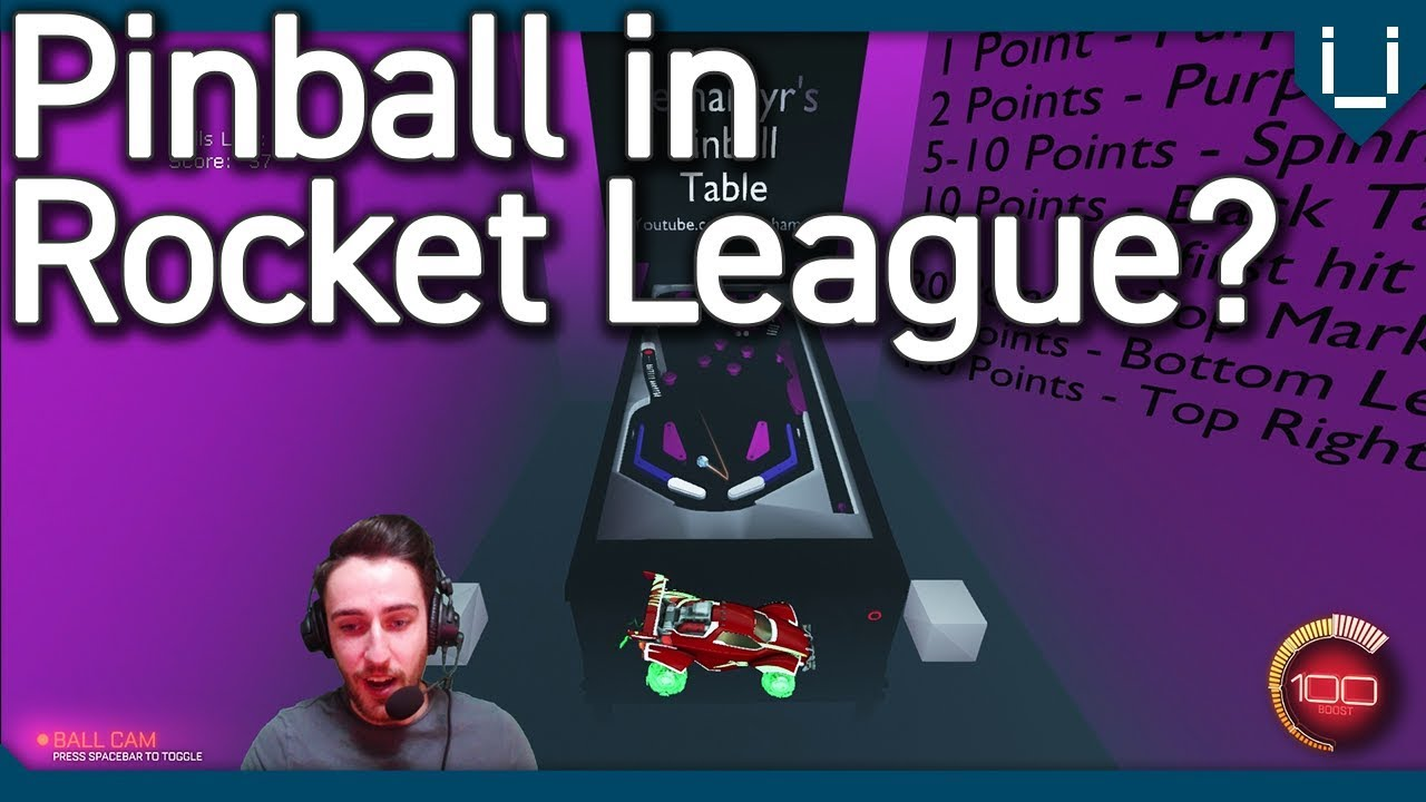 Lethamyr Made Pinball in Rocket League! Who can get the High