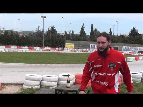 F1 Fans Kart Challenge Athens 2015  Oval Race2 Group 2