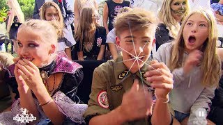 Johnny Orlando and Bars Melody sing for Shania Die Geissens 26 2 19