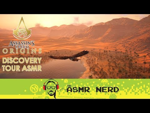 ASMR Whisper | Assassin's Creed Origins | Ancient Egypt Discovery Tour | 2