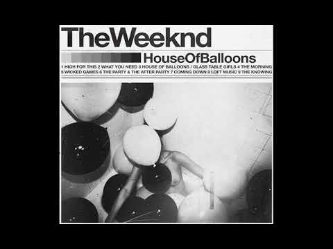 What The Weeknd - The Party & The After Party would sound like in the bathroom of a party