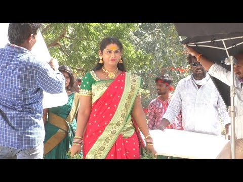 Tupaki Ramudu Movie Making | Jogini Shyamala Dance | Working Shots | Dtv Telugu