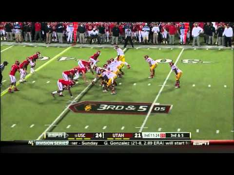 Matt Barkley vs Utah 2012