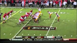 Matt Barkley vs Utah 2012