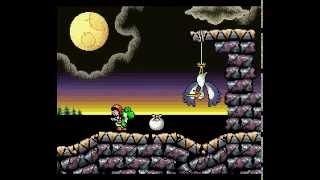 Super Mario World 2 Yoshi's Island Part 53 {final Stage} 6-8: King Bowser's Castle 100 Points