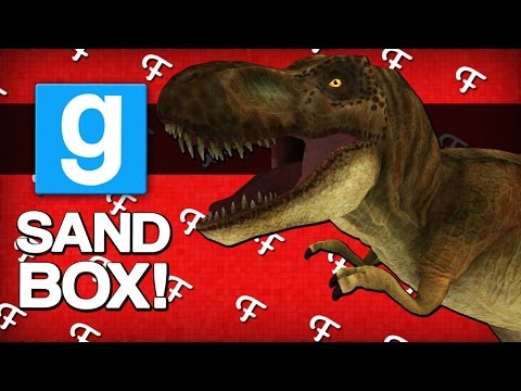 Gmod: Welcome To Jurassic Park! (Garrys Mod Sandbox - Comedy Gaming)