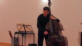 Moon Prayer: Callisto (Robertson). Duet for Double Bass and Piano
