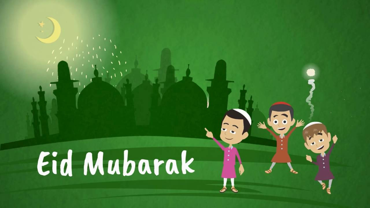 Eid mubarak animated video youtube eid mubarak animated video m4hsunfo