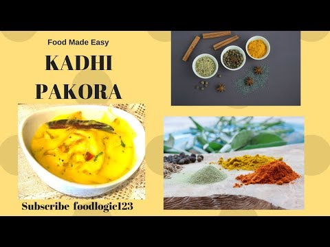 Onion Kadhi | Kadhi Pakora Recipe | Kadi Recipe | Indian Recipes| Punjabi Kadhi Pakora