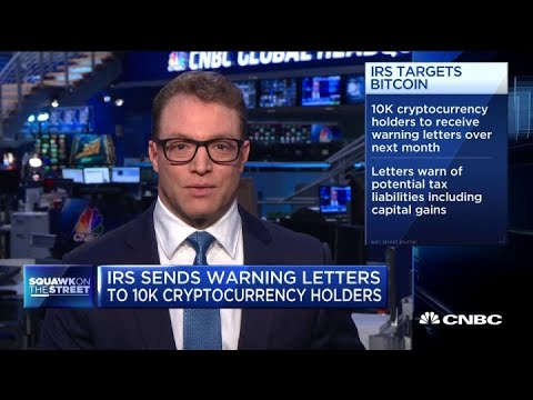 IRS warns 10,000 cryptocurrency holders they may have broken tax laws