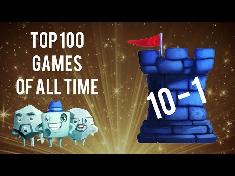 Top 100 Games of All Time: 10 to 1