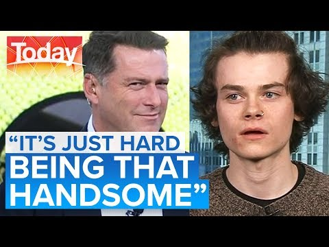 Harry Styles lookalike doesn't like Harry Styles | Today Show Australia