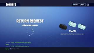Fortnite how to sell skins etc