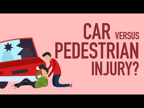 Car Versus Pedestrian Injury?  Here What You Gotta Know! [BJP#139]