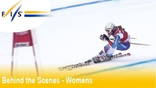 Focus CHEMMY ALCOTT (GBR) - Val D'Isere - Audi FIS Ski World Cup 2012 - Behind the Scenes - Wom