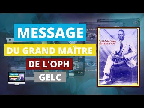 Message Du GM De L'OPH - Cassette Ouverture Mont Kari Kari 1995