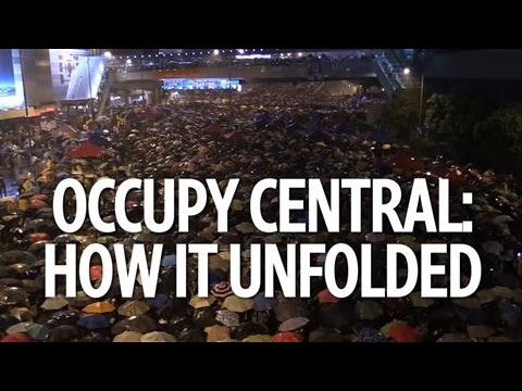 Occupy Central: How It Unfolded