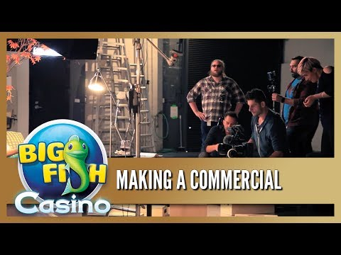 Behind The Scenes - Making a Big Fish Casino Commercial