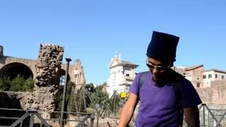 アキーラさん訪問②イタリア・ローマ・古代遺跡群フォロロマーノ・ForoRomano,Rome(Roma),Italy