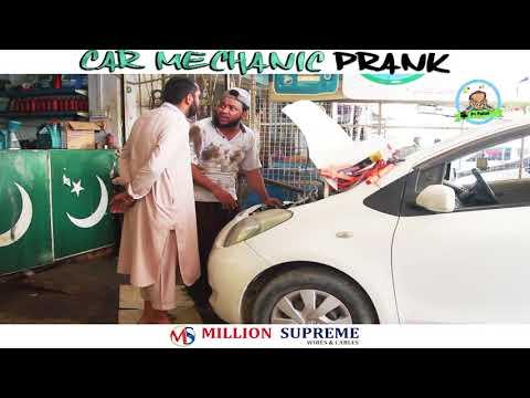 | Car Mechanic Prank | By Nadir Ali In | P4 Pakao | 2018