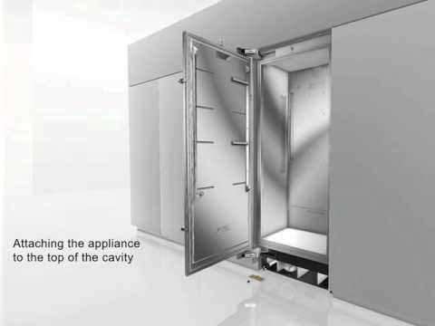 thermador side by side refrigerator. thermador refrigerator installation side by